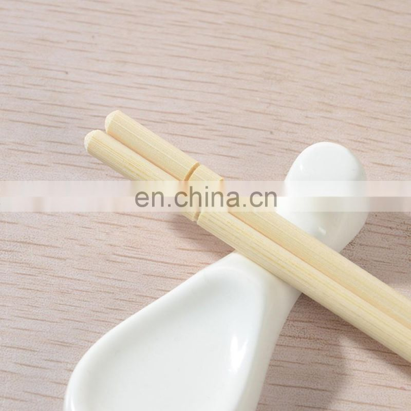 Bulk disposable bamboo sushi noodle chopsticks with logo