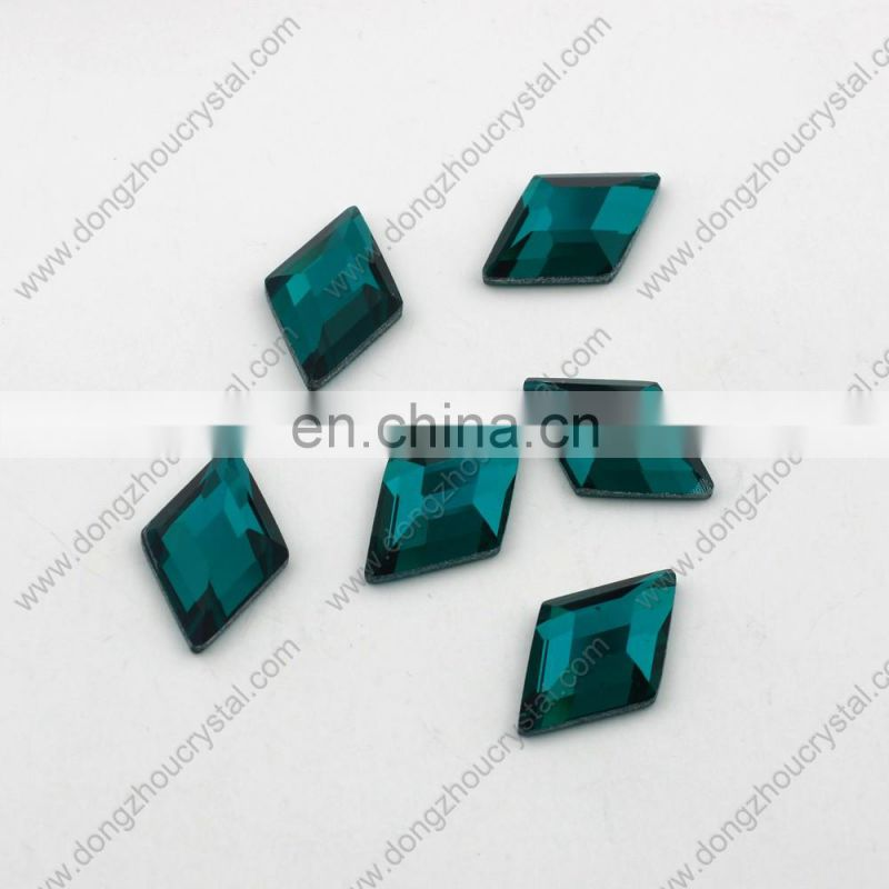 Flat Back Glass Stones Mirror Back For Fashion Jewelry Decoration