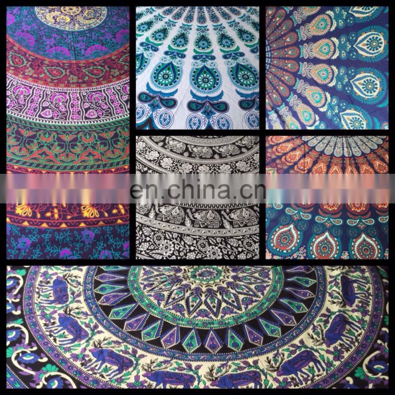 round roundies fashion beach towel