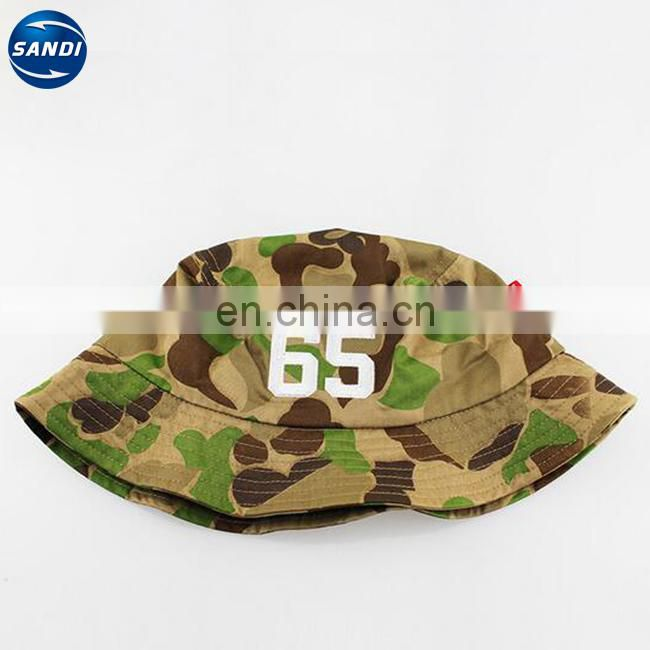 Promotional plain custom fishing bucket hat