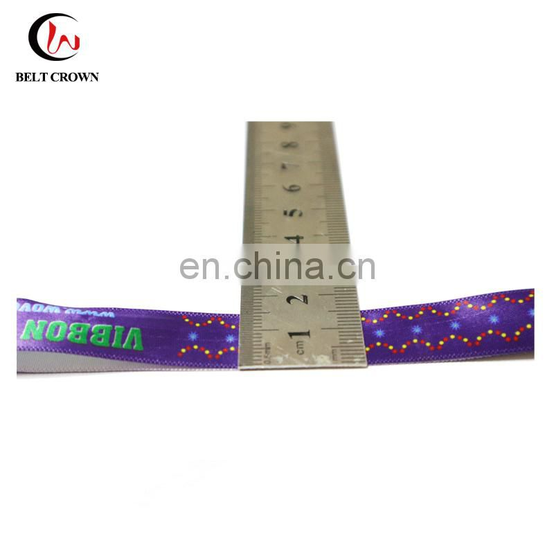 Make your own custom festival fabric wristband for events