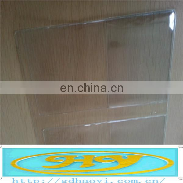 high quality clear PVC plastic airline travel ticket holder, card holder, passort holder