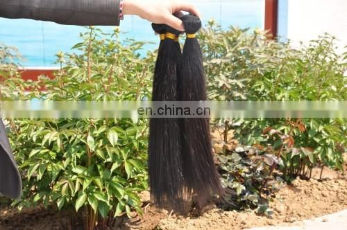 100% Pure Natural Unprocessed Raw Virgin Hair Extension Factory Price Top Grade India Hair