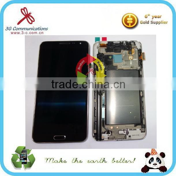 2015 hot replacement lcd parts for samsung galaxy s6 edge plus lcd touch screen , for samsung galaxy s6 edge plus lcd assembly