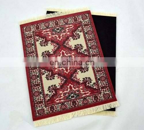 OEM printed rug mouse pad, carpet mouse pad
