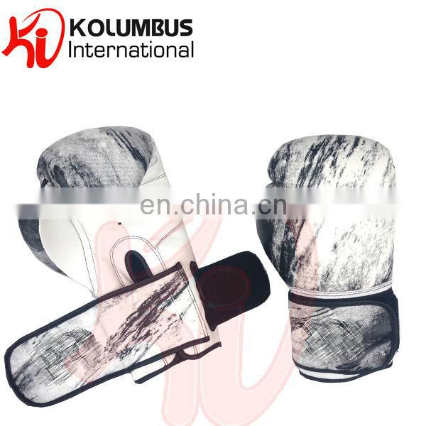 Marble Pattern PU Boxing Gloves Image