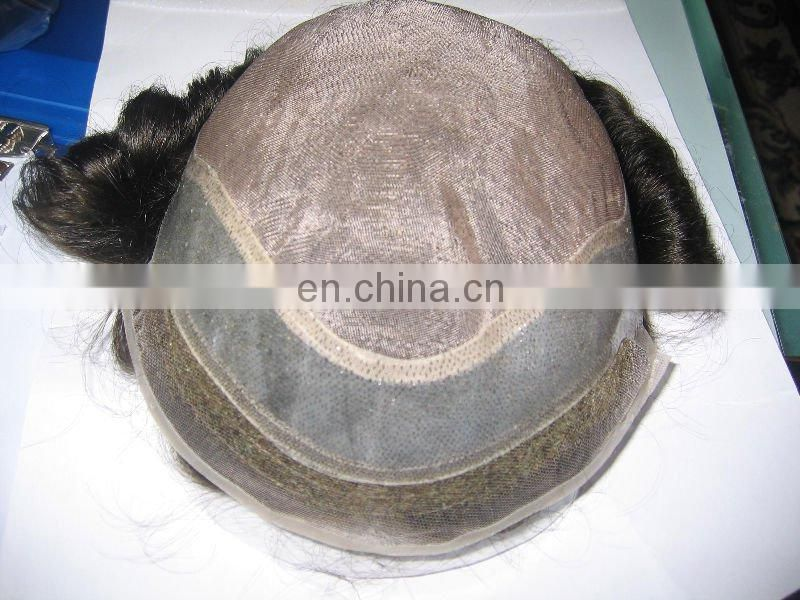 super quality men's toupee with mgm design