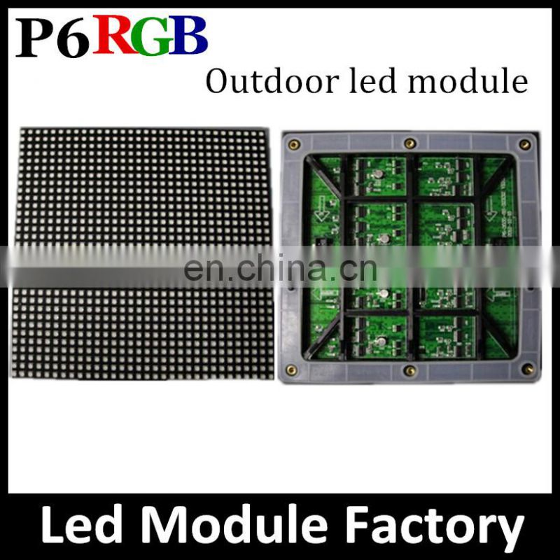 Customized size video function outdoor P10 led display panel