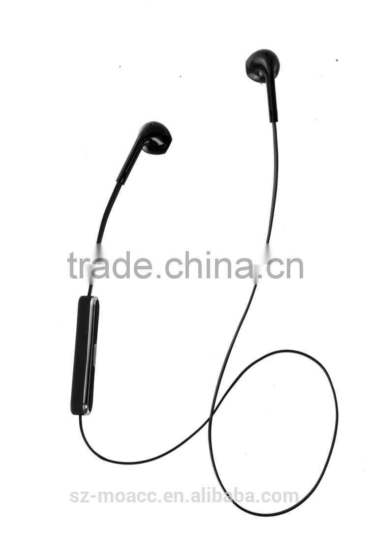 Factory direct sale Voice control v4.0 sport headphone bluetooth