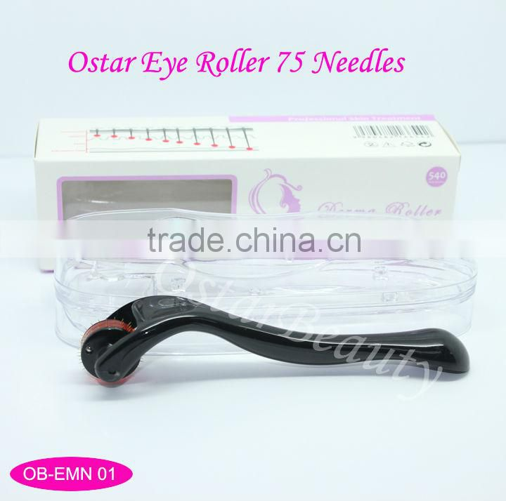 (Best skin care) 75 needles eye roller for crow's feet and face treatment OB-EMN 01