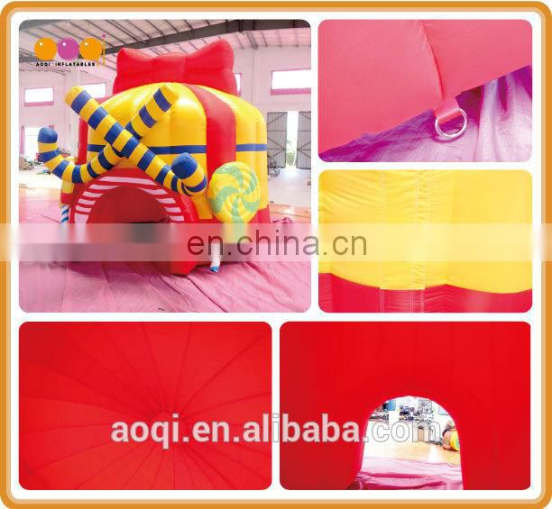 cute present hat inflatable tent