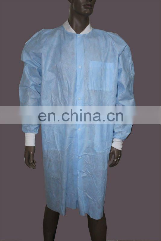 disposable Orange lab coat