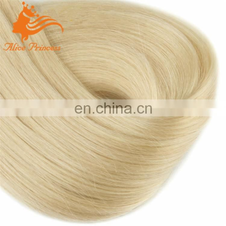 I tip hair extensions remy 1g stick tip hair weft blonde hair extension 22#