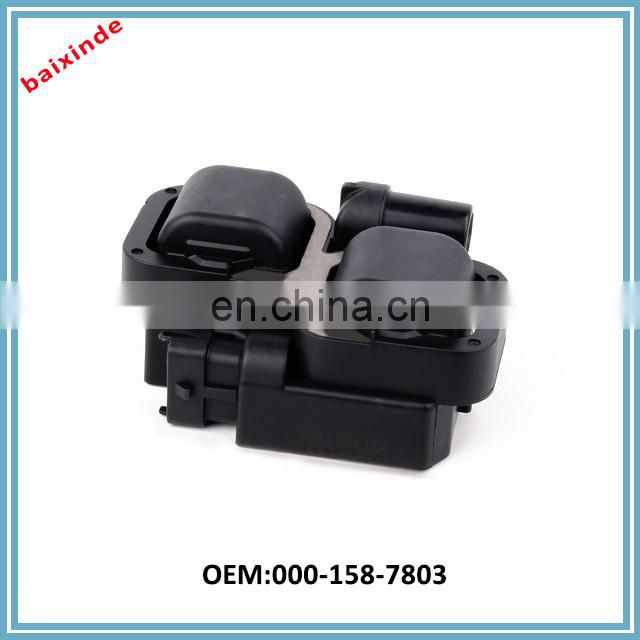 Ignition Coil Pack OEM 07C905115 for 2002-2009 AUDI V12 W12 6.0L / VW W8 4.0L Hanshin Ignition Coil