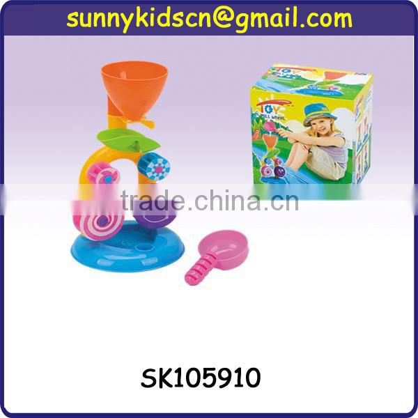 2014 hot selling plastic beach desk toys for kid