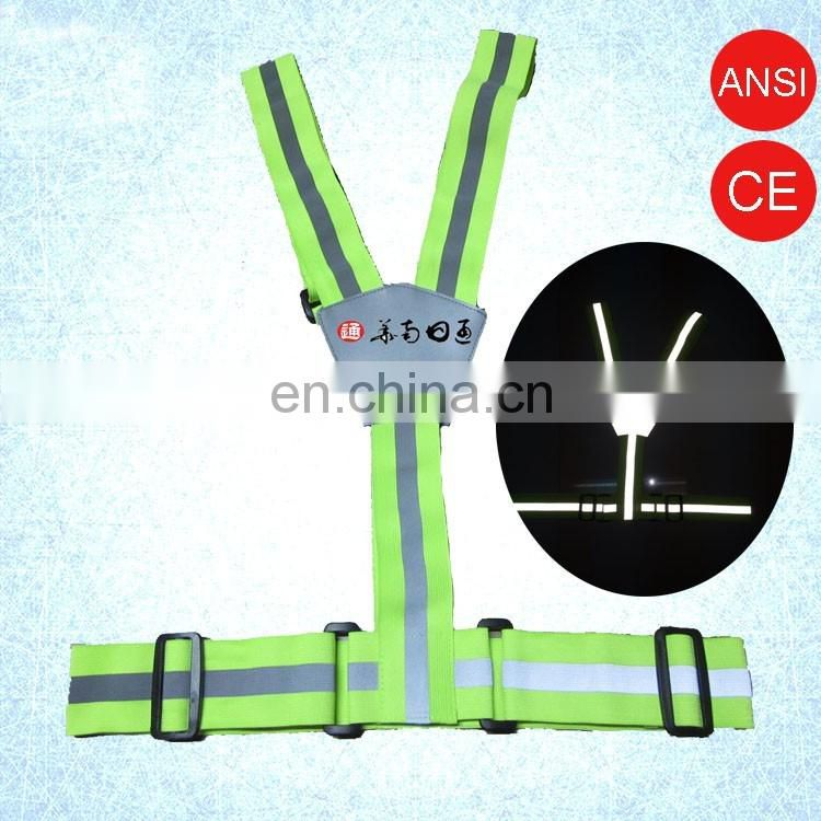 Good Flexiblity Cycling Reflective Safety Work Belt