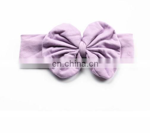 Big Bows Headwrap Baby Bows Top Knot Baby Headband Toddler Turban Headband For Hair Accessory