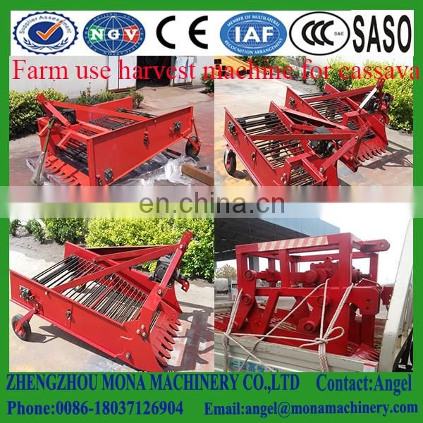 High quality single-row garlic and potato digger harvester for sale