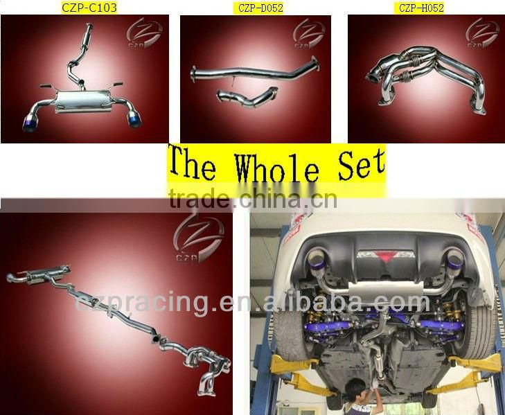 Exhaust catback fit for Mercedes Benz W211 E55 AMG of Exhaust System