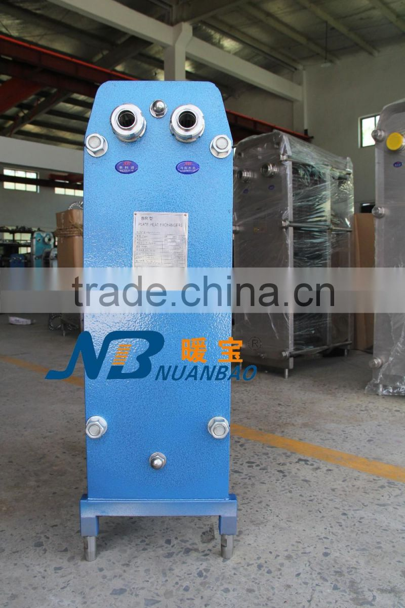 Carbon steel plate heat exchanger iron BR0.13B M6 alfa alval style ...