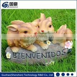 Attractive Welcome Pig Garden Sign Statue