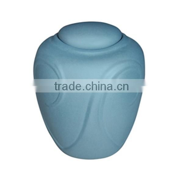 Unique funeral wholesale urn for ashes decorative biodegradable