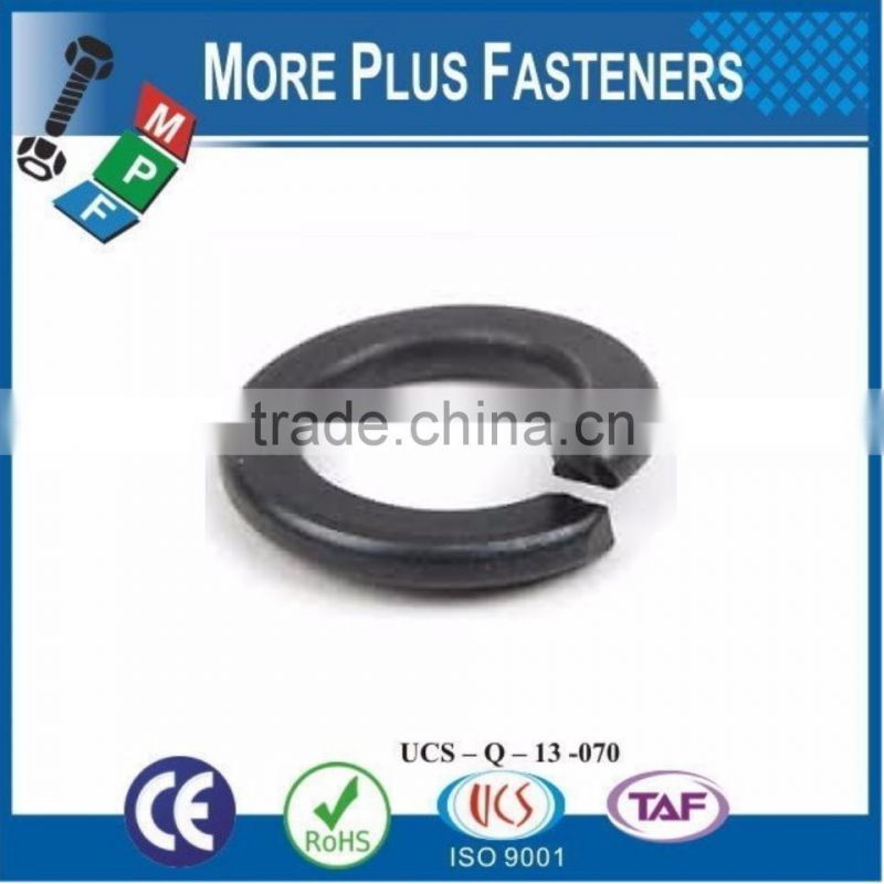 Made in Taiwan Lock Washer DIN 127 Form B Square End Spring Steel Bare Steel Zinc Plated