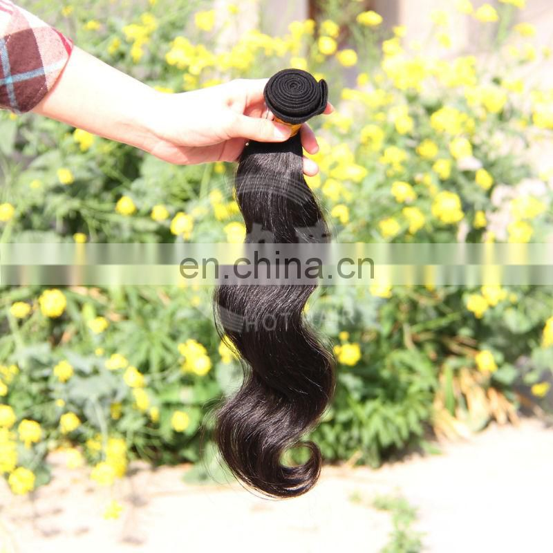 Hot Selling Wholesale 5A Grade Virgin Body Wave Brazilian Hair 10 to 30 Inches