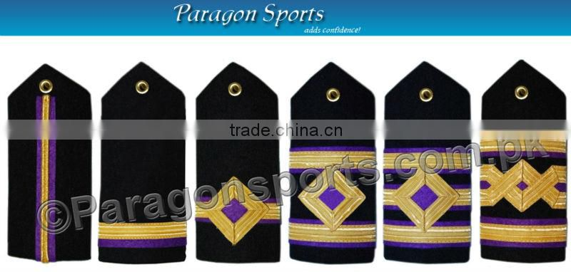 Navy Epaulette 4th Engineer Curved Diamond 1 Gold Bar Shoulder Board