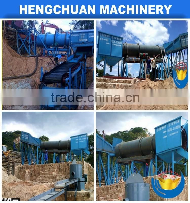 Gold ore dressing equipment&ampHot selling trommel screen With Double deck