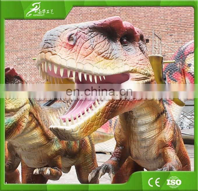 KAWAH High Quality Animatronic Electric Dinosaur Amusement Rides