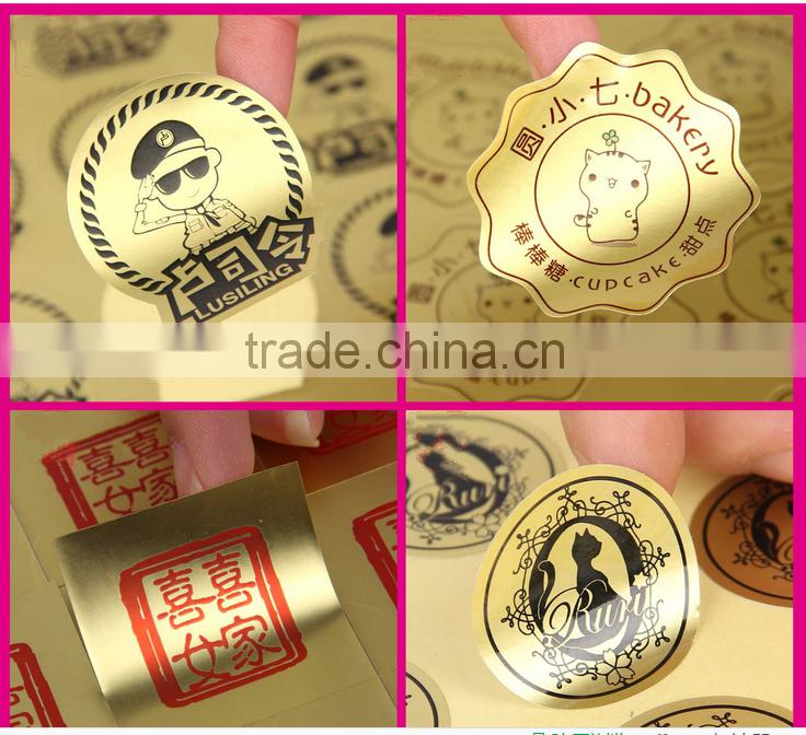 factory direct price custom self adhesive matte pvc paper stickers for label printing packaging