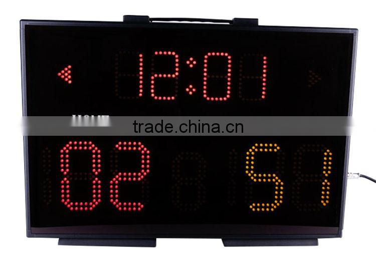 Light electronic led portable basketball scoreboards