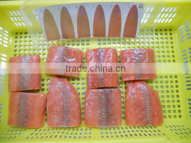 New season frozen pink salmon portion