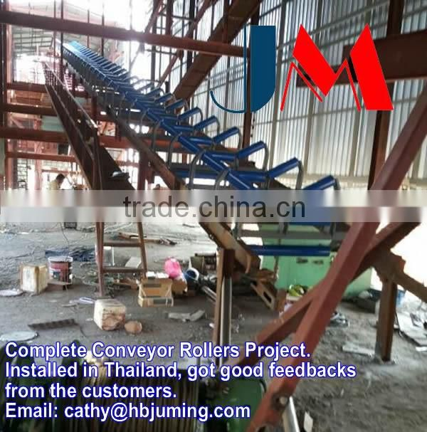Trough roller set belt conveyor idler for sale China