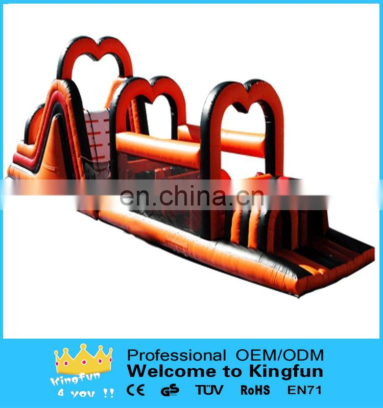 Festival inflatable playground obstacle for event