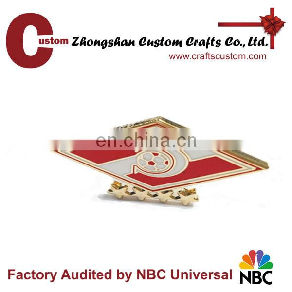 Customized Shaped butterfly clutch Lapel Pin with logo
