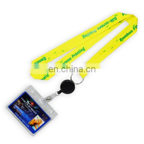 Colorful lanyard with ID card