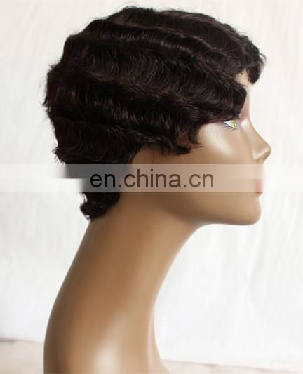 new fashion high quality whole human hair full lace wig