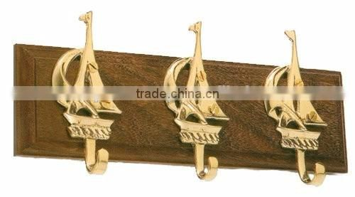 decorative brass nautical hangers