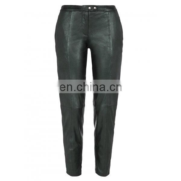 Hot sale new fashion women leather pants