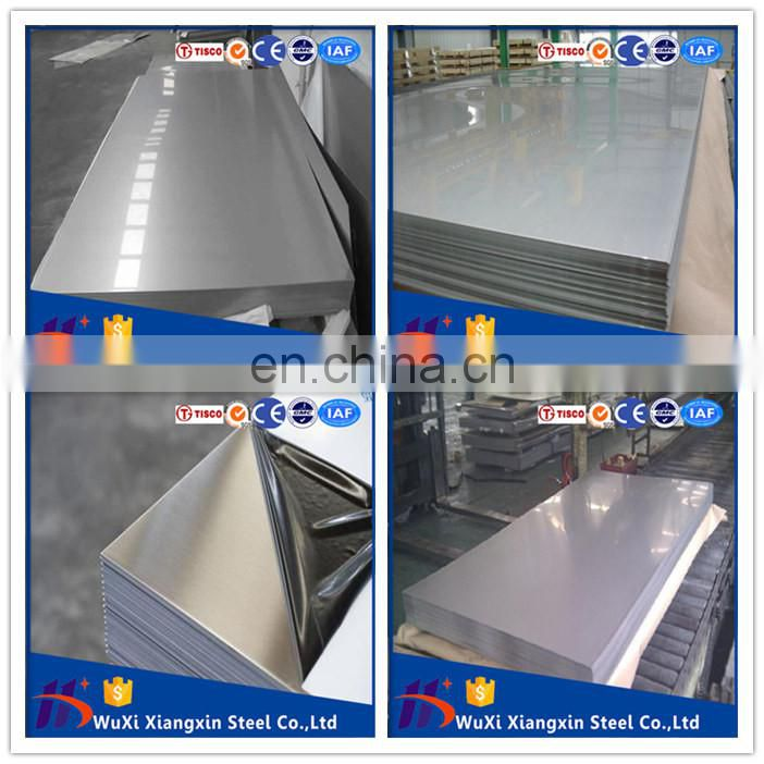 Cold Rolled 1.3MM 1.35mm Thickness aisi 310s stainless steel sheet 304 316 316l