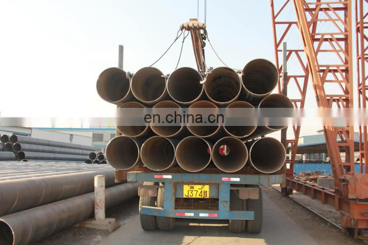 DN750 spiral steel pipes, 760mm big caliber welded steel pipe 30 inch OD