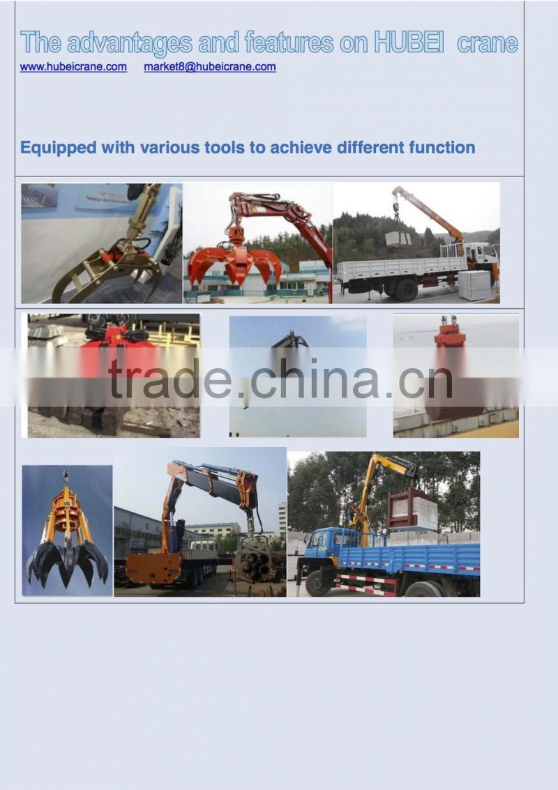 120ton knuckle boom Crane and Accessories,SQ2400ZB6, hydraulic truck mounted crane.