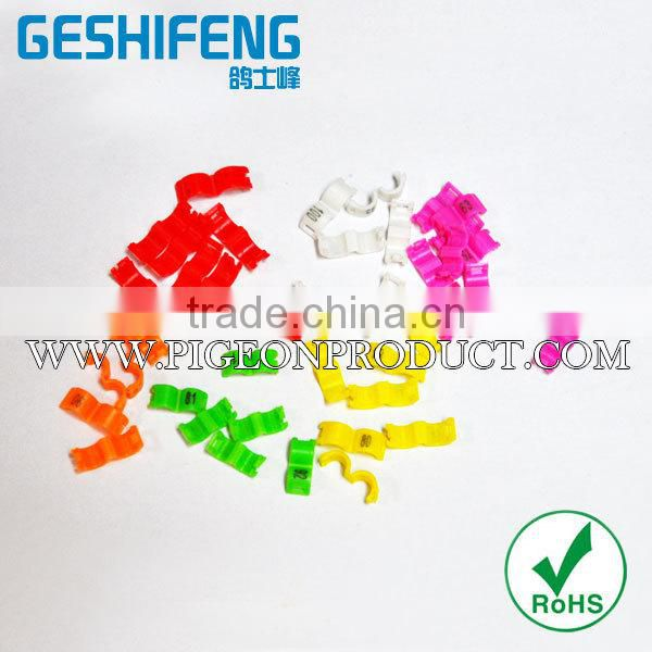 Latest design personalized bird leg bands with high quality