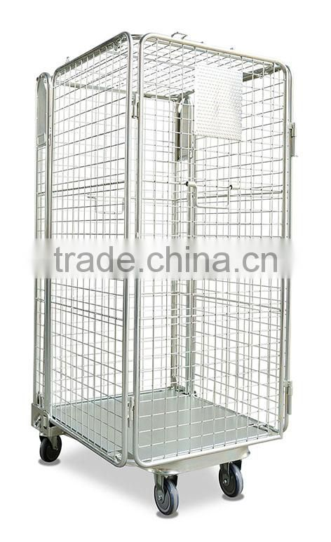 4-sides Rolling Transport Security Cage of roll cage from