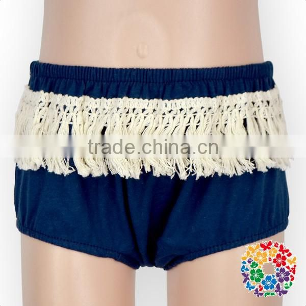 Infant And Toddler Maize Tassel Ruffle Panties Organice Cotton Diaper Cover Baby Bloomers Wholesale
