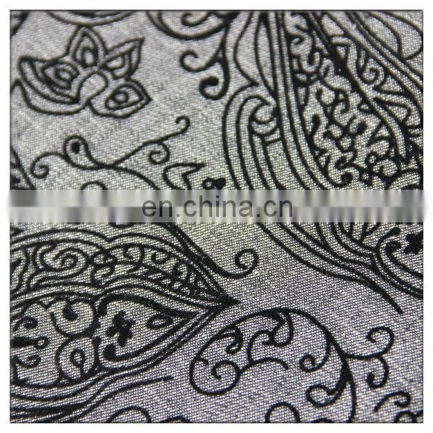 flocked denim fabric 100 cotton twill denim flocking fabric for sofa