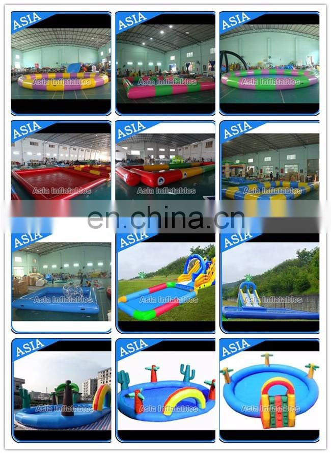Inflatable Kids Swimming Pool Float With slide