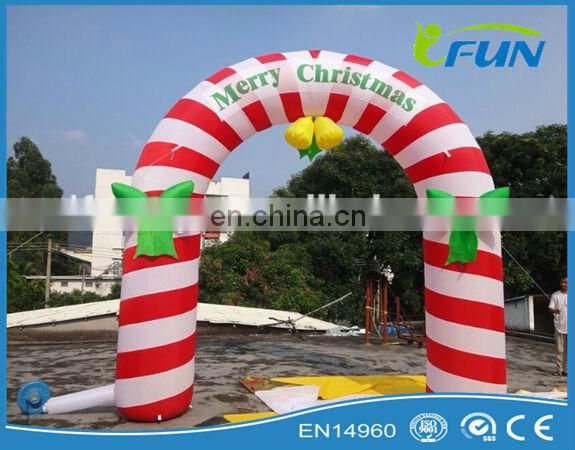 giant inflatable santa claus/outdoor christmas decoration